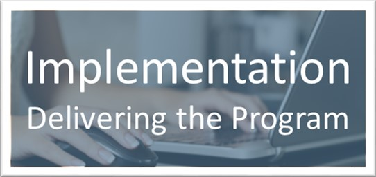 Implementation-Delivering the Program